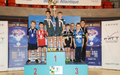 Quentin vice-champion de France Benjamins en double